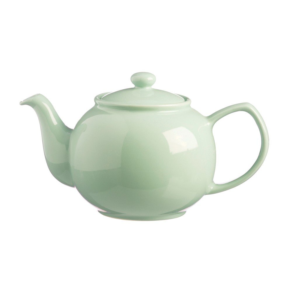 Price And Kensington 6 Cup Mint Teapot Silver Mushroom