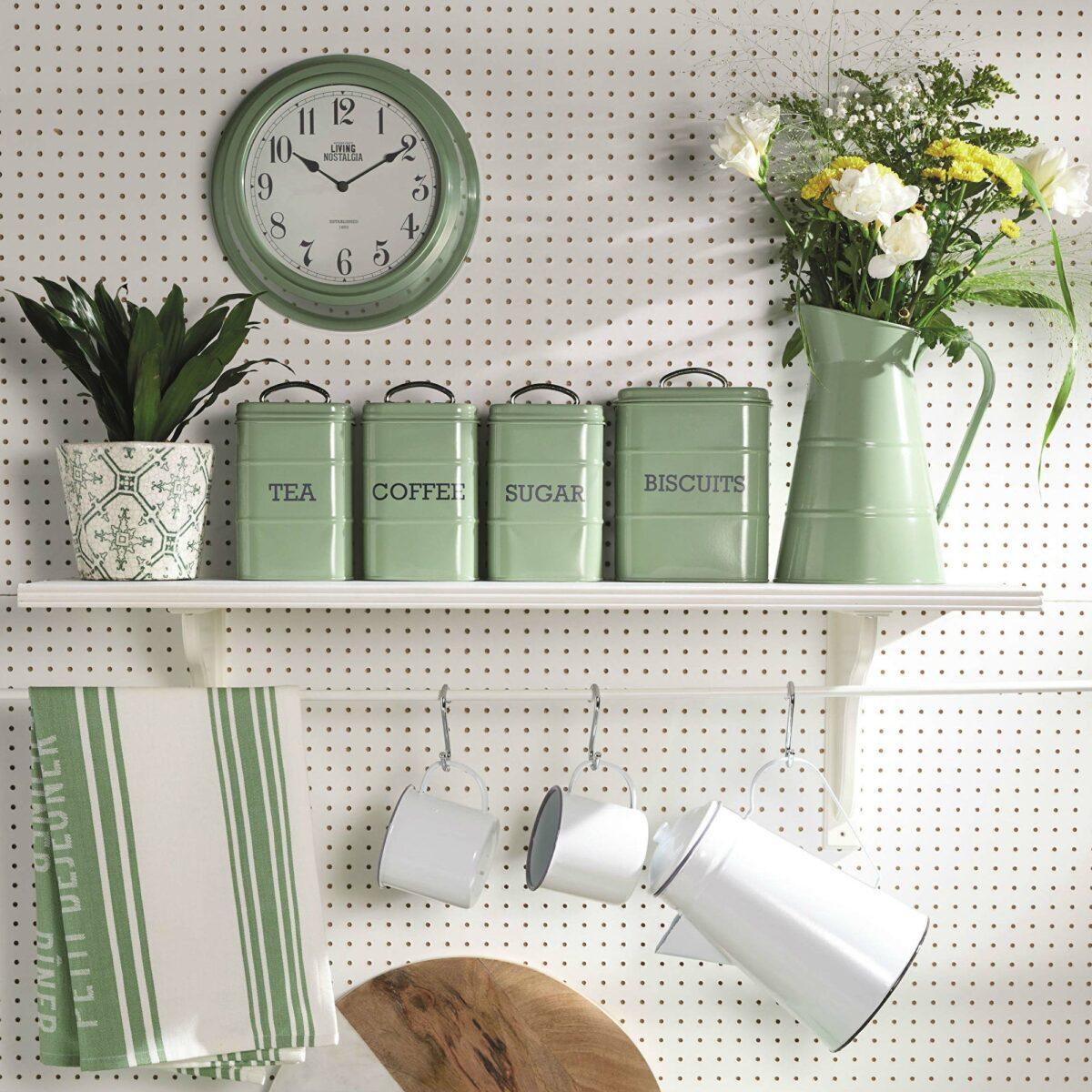 Living Nostalgia English Sage Green Tea Coffee Sugar