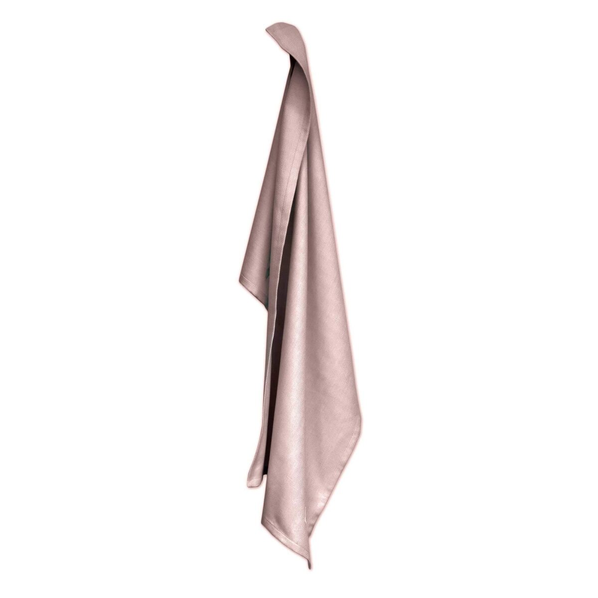 The Organic Company Rose Pink Kitchen Towel Silver Mushroom