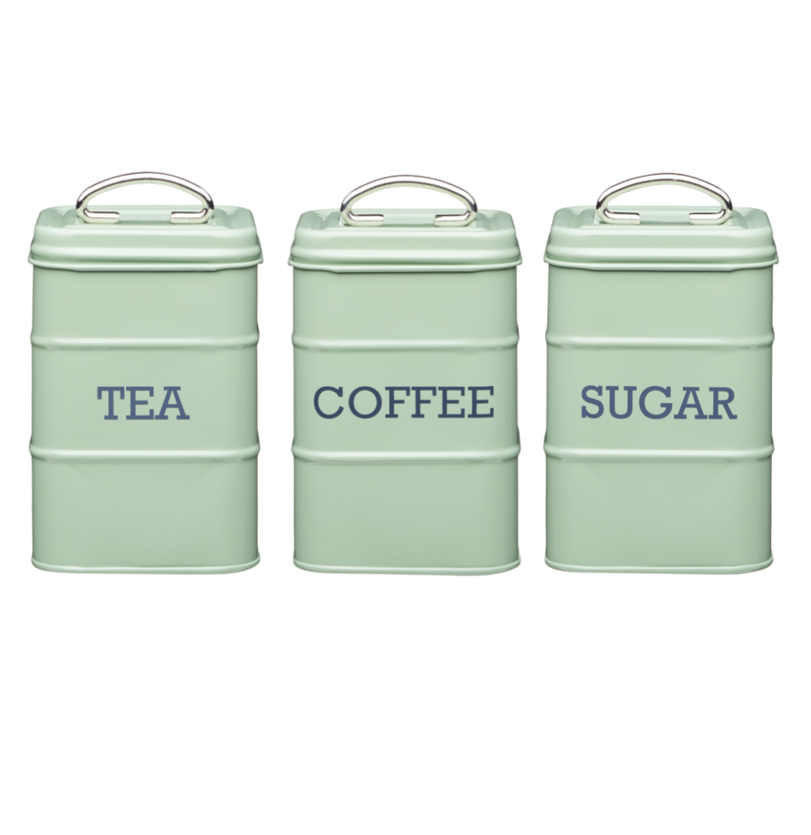 Click To Enlarge Homebrandskitchen Craftliving Nostalgia Living English Sage Green Tea Coffee Sugar