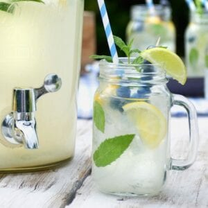Drinking Jars with Handles