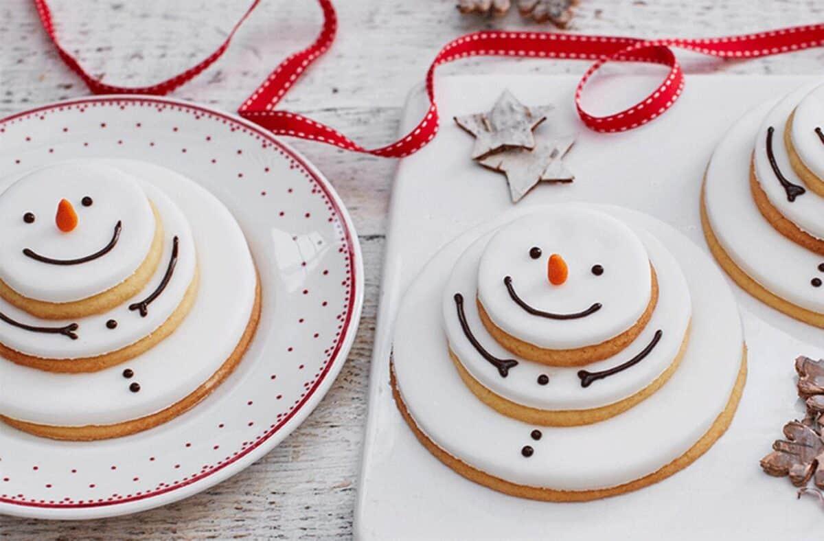 Stacking Snowmen Cookies Christmas Recipes Silver Mushroom
