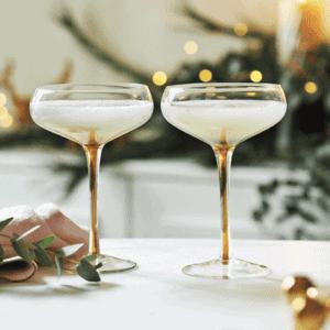 Winter Stem & Glassware