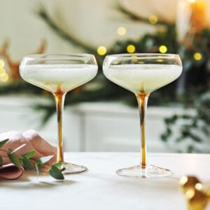 Champagne Flutes & Cocktail Saucers