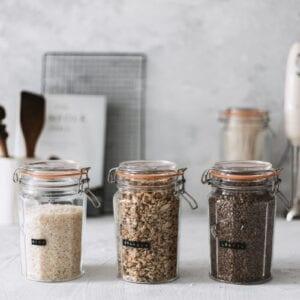 Kilner Facetted Jars