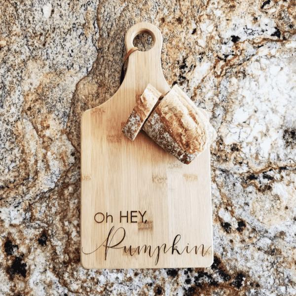 Oh Hey Pumpkin Chopping Board - Autumn Edit