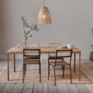 Nkuku Danali Mango Wood Dining Table