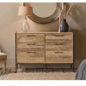 Nkuku Dasai Mango Wood Chest of Drawers