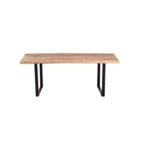 Nkuku Natural Mango Wood Fia Dining Table - 180cm