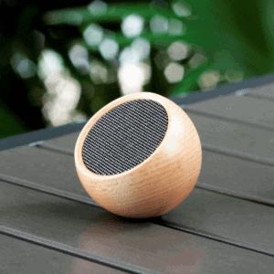 Tumbler Selfie Bluetooth Speaker - Maple