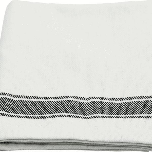 Horizontal Three Striped Tea Towel