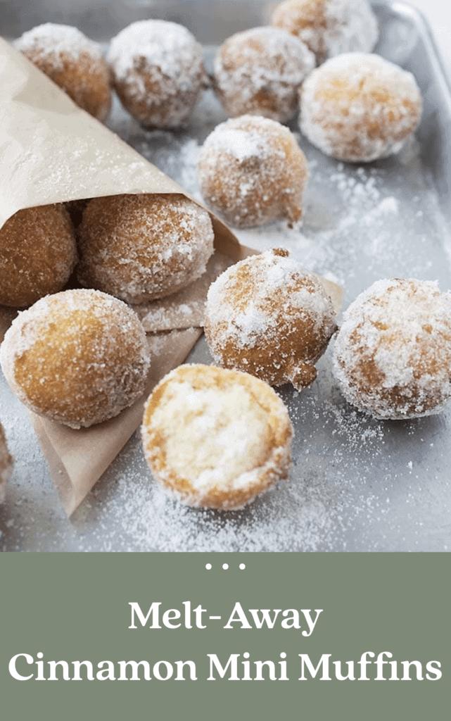 Melt Away Cinnamon mini Muffins