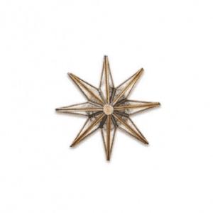 Nkuku Layia Decorative Glass Star - Small