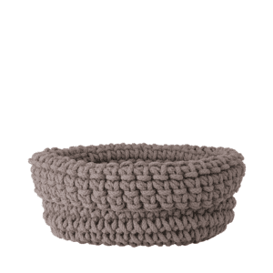 Blomus Cobo Knitted Cotton Basket - Fungi