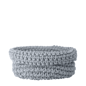 Blomus Cobo Knitted Cotton Basket - Microchip