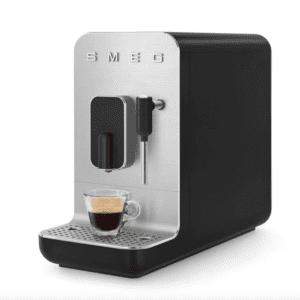 SMEG 50's Retro Style Bean to Cup Coffee Machine - Matte Black