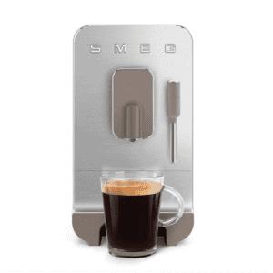 SMEG 50's Retro Style Bean to Cup Coffee Machine - Matte Taupe