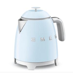 SMEG 50's Retro Style Mini Kettle - Pastel Blue