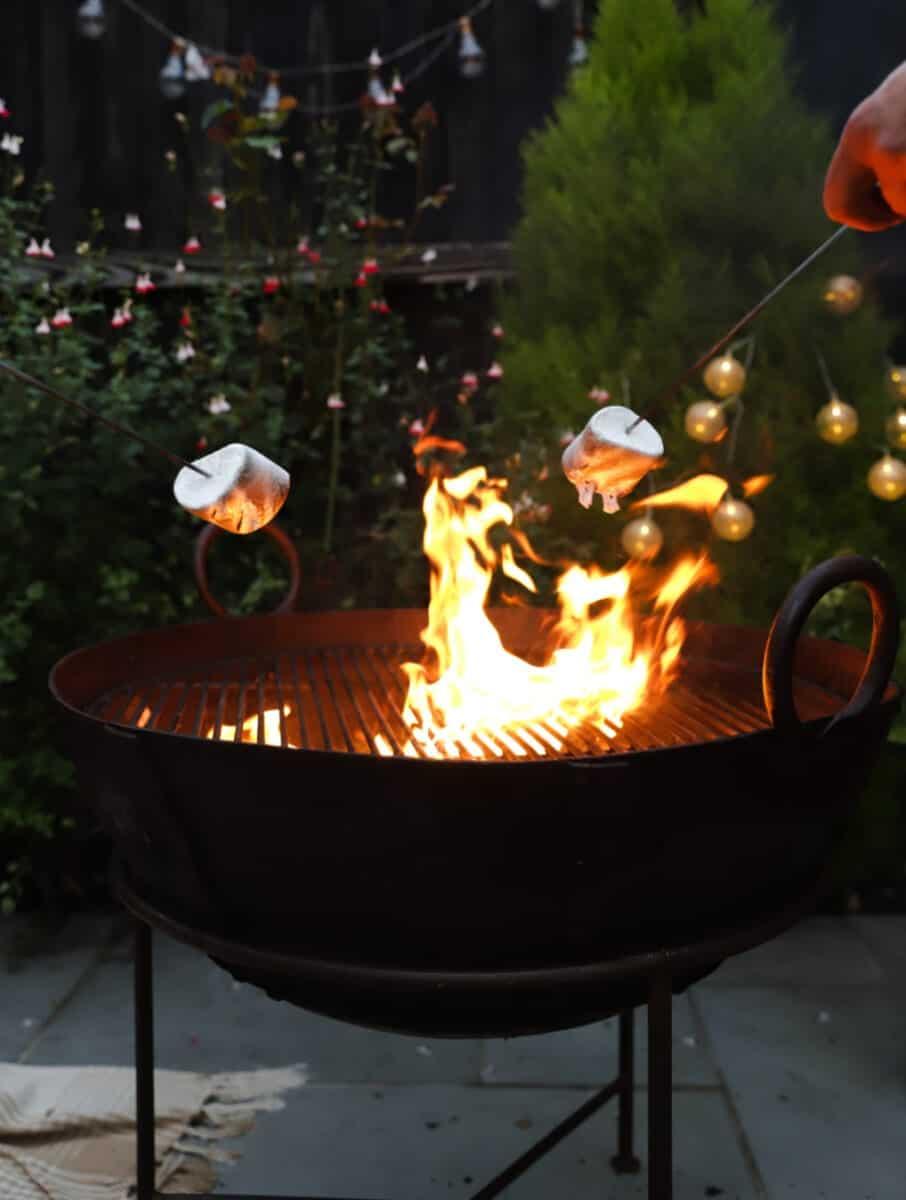 Pumpkin Spiced Firepit Smores